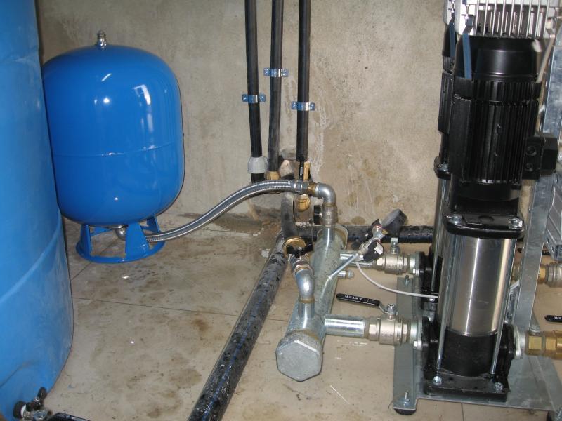 Impianto autoclave raccordi tubi innocenti for Impianto autoclave schema